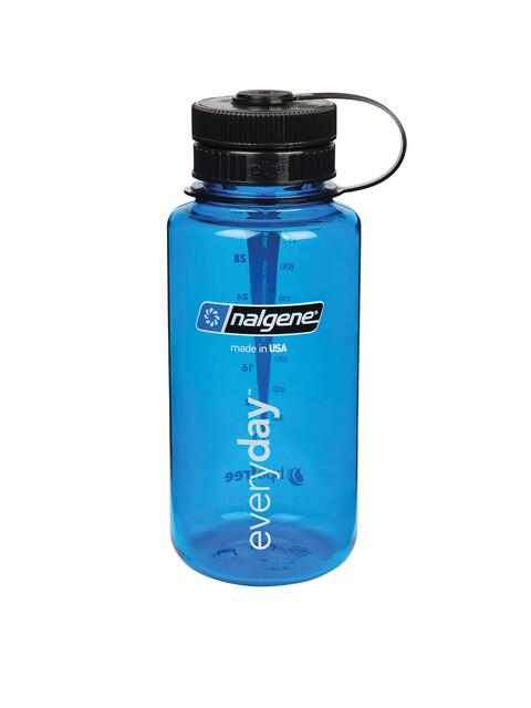Nalgene Everyday Weithals Pillid Trinkflasche 1000ml blau